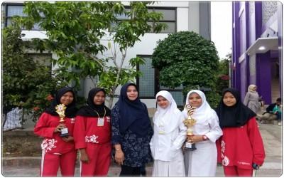 Anggota PMR SMK Negeri 1 Kedawung Juara III PK Wira dan Juara Harapan I Tandu Putri Wira